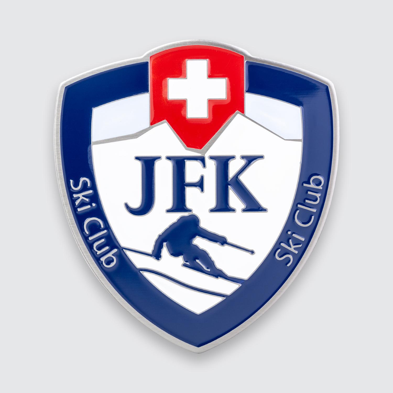 plakette jfk ski club