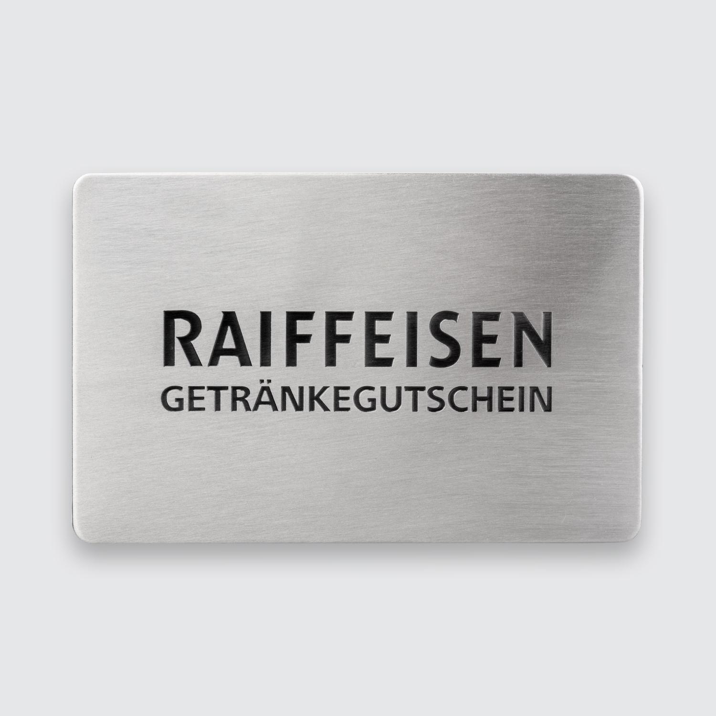plakette Raiffeisenbank
