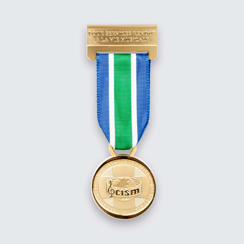 medaille cism