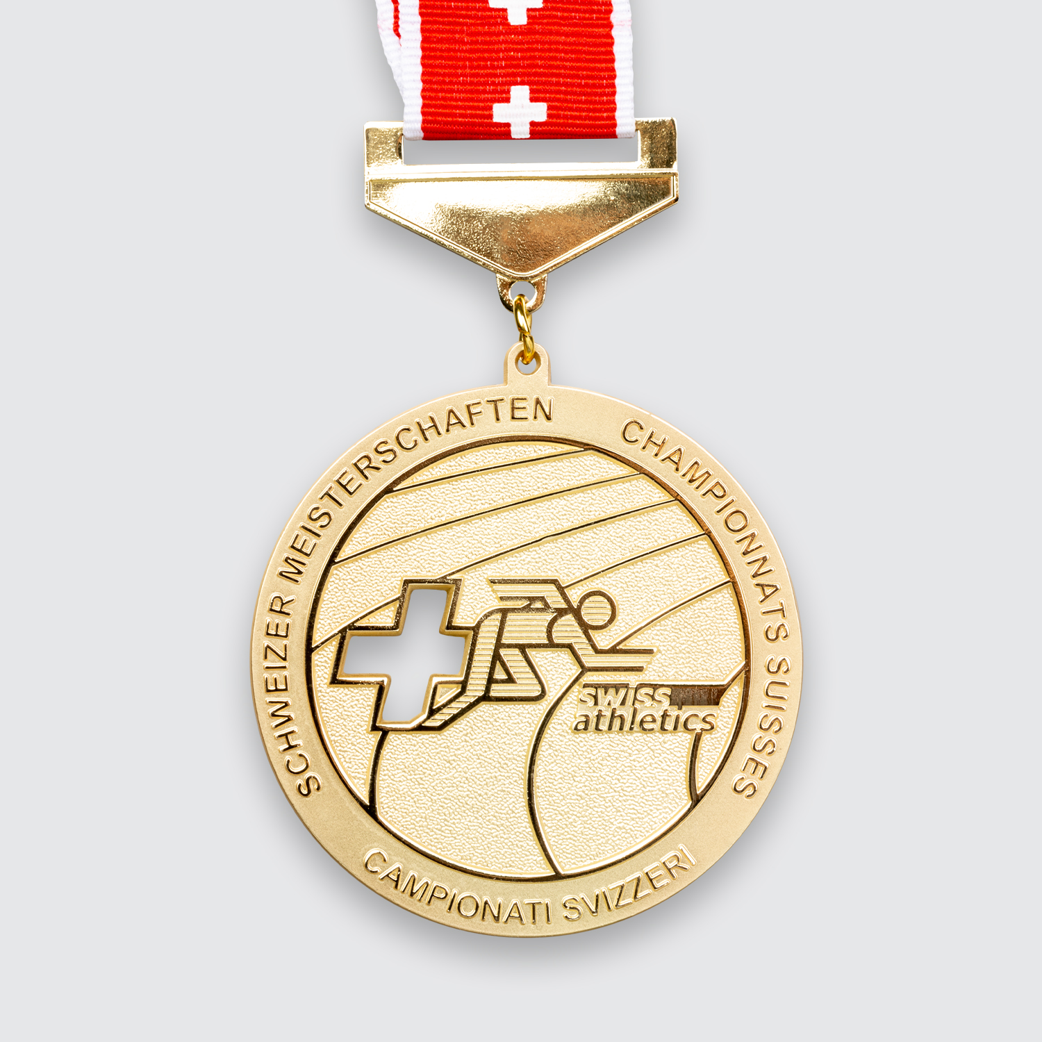 medaille swiss athletics