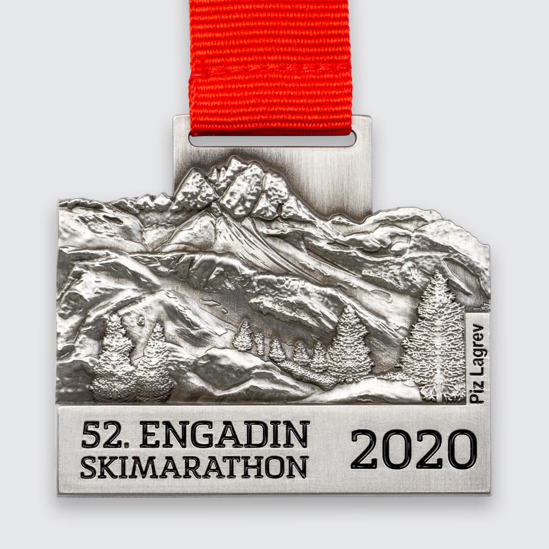 medaille engadin skimarathon