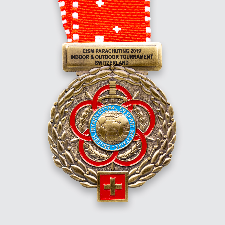 medaille parachuting