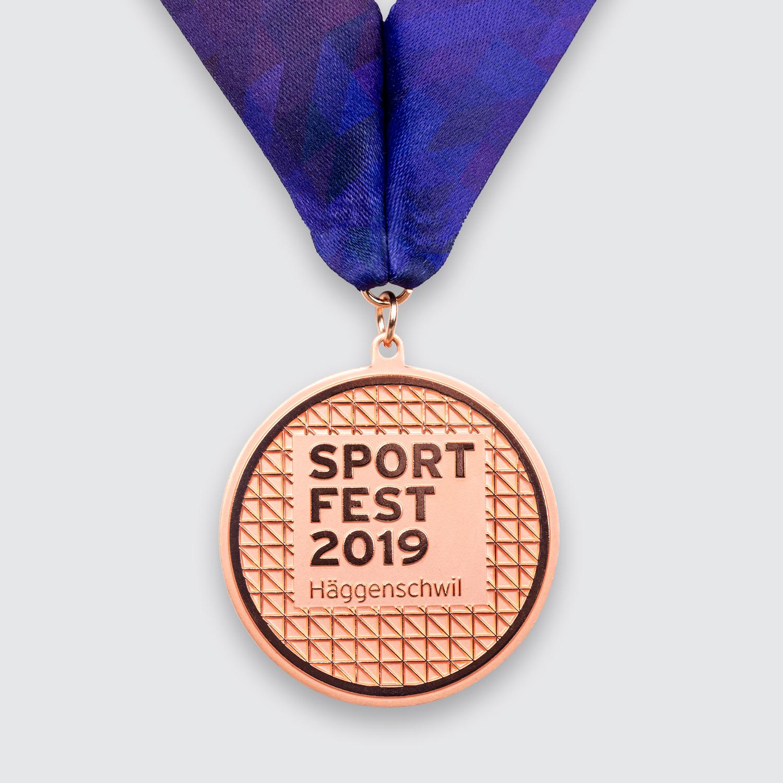 medaille sportfest häggenschwil